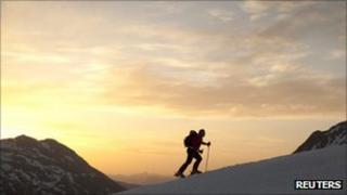 Skier in Switzerland