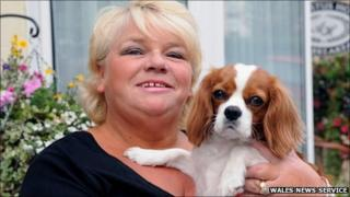 Andrea Richards reunited with Molly