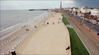 Blackpool sea defences