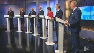 Seven candidates on TV3