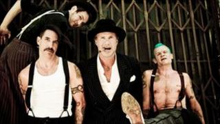 Red Hot Chili Peppers are the lead act in the event which will take place over three locations