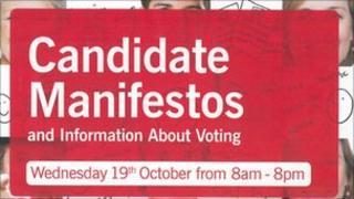 Candidate Manifestos