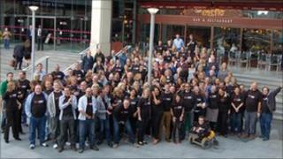BBC factual staff in Birmingham