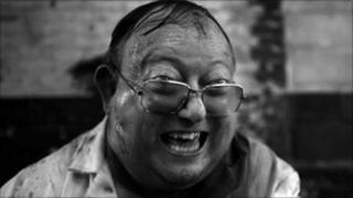 Laurence R Harvey in The Human Centipede 2