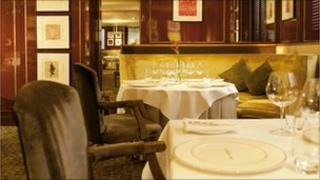 The Balmoral's number one restaurant