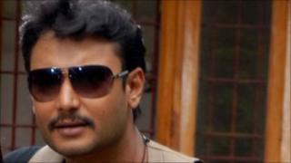 Actor Darshan (Photo: K Venkatesh)