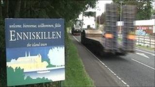 Enniskillen road