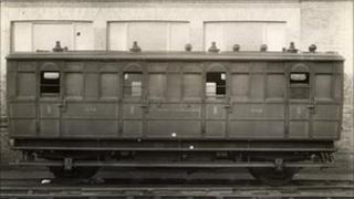 A railway carriage