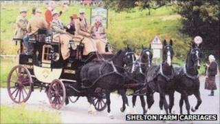 The stagecoach Nimrod