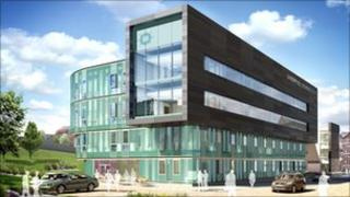 Third building at Liverpool Science Park