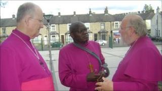 Bishop of Blackburn, the Archbishop of York and the Bishop of Burnley