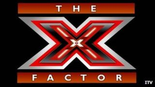 X Factor logo: Pic ITV