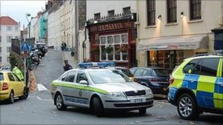Guernsey Police at Pedvin Street