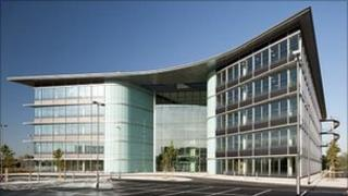 Quintiles' new offices at Green Park, Reading