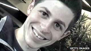 undated image of Gilad Shalit