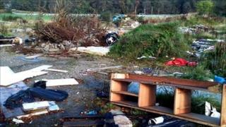 Fly-tipping in Aberdeen