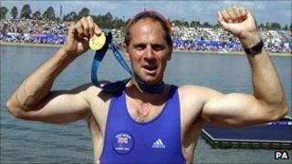 Sir Steve Redgrave at the Sydney Olympics