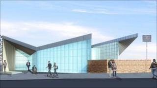 New Dalmarnock Station
