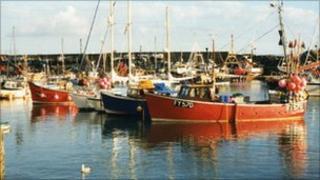 Newlyn harbour - Pic: Steve Bull