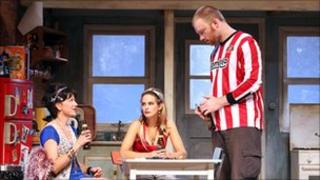 The French play Sunderland
