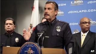 LA Police Chief Charlie Beck