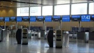 BA's new check-in in Gatwick's north terminal