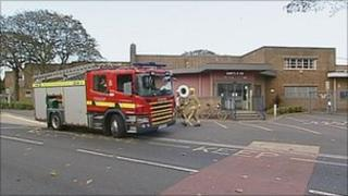 Fire crews attend Kings Park Primary School