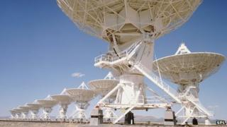 Very Large Array telescopes