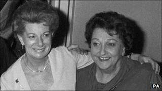 Jean Alexander (left) and Betty Driver