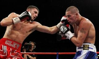 Nathan Cleverly a Tony Bellew
