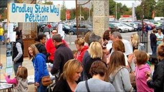 Bradley Stoke Way petition