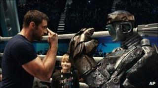 Image from Real Steel starring Hugh Jackman