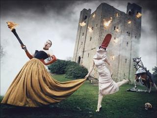 Burning Down The House by photographer David LaChapelle