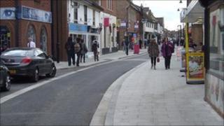 Moulsham Street in Chelmsford