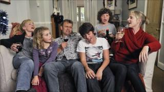 Cast of BBC series Outnumbered