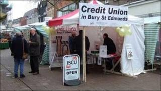 Ipswich and Suffolk Credit Union stall