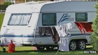Travellers' caravan (generic)