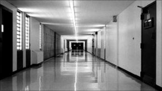 US supermax prison in Marion, Illinois - file image from 2000