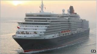 New Queen Elizabeth cruise liner
