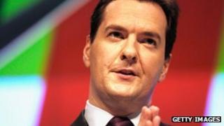 The UK Chancellor, George Osborne MP