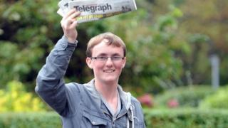 Paperboy Luke Ashurst