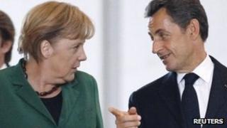 President Sarkozy and Chancellor Merkel