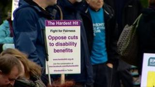 disability protest