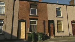 Fire at house in Olive Street, Heywood
