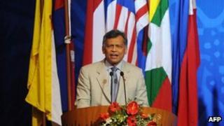Asean Secretary General Surin Pitsuwan