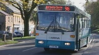 Number 96 Arriva bus service