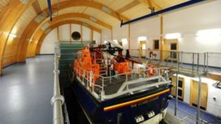 The Lizard lifeboat - Pic: Geoff Squibb