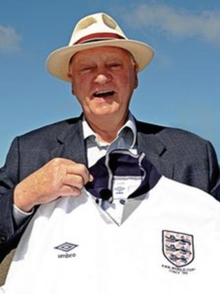 Sir Bobby Robson. Photo: Sir Bobby Robson Foundation