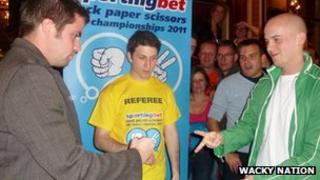 UK Rock Paper Scissors Championship final