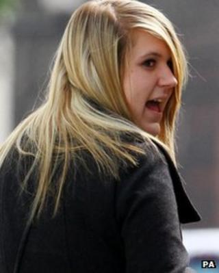 Rebecca Reasbeck in March 2011